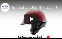 Impact à 50km/h ( Utilisation du Casque )