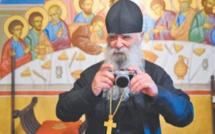 Frère Jean, ex-photographe de mode devenu moine orthodoxe dans les Cévennes