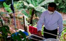 Au Salvador, pisciculture et potagers contre les pénuries en temps de pandémie