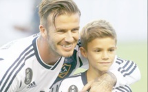Le beau message de David Beckham à son fils Romeo pour ses 18 ans