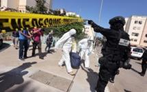 Saisie à Témara d' un véhicule frigorifique contenant des substances explosives