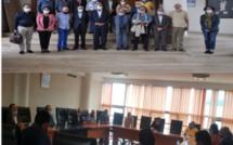 Driss Lachguar reçoit deux délégations de l'AMSLP et du GANP