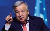 Le Secrétaire général de l'ONU dévoile le brigandage des polisariens