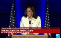 Discours de Kamala Harris, vice-présidente élue des États-Unis