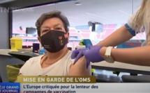 L'Europe critiquée pour la lenteur des campagnes de vaccination