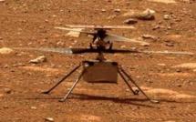 L'hélicoptère Ingenuity vole sur Mars et marque l'Histoire