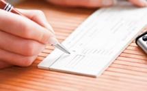 Chèques: Halte à l'irrégularité !