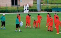 La sélection nationale B en stage à Maâmora