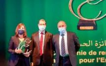 Le Prix Hassan II pour l' environnement décerné au Groupe Al Omrane