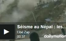 Séisme au Népal :  les images d'un rescapé au Tibet